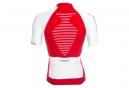 X-Bionic Race Short Sleeves Top Rojo Blanco