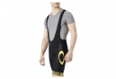 OAKLEY Colorblock Bib Shorts Black Yellow