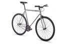 6KU Detroit Fixie Bike Silver Black