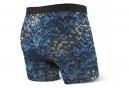 Boxer Saxx Vibe Ocean Camo / Bleu