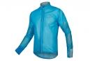 Veste Imperméable Endura FS260-Pro Adrenaline Race Cape II Bleu Fluo