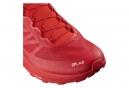 Chaussures de Trail Salomon S/Lab Sense 7 Rouge / Blanc