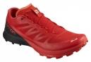 Chaussures de Trail Salomon S/Lab Sense 7 SG Rouge / Noir