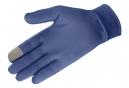 Gants Salomon Agile Warm Glove Unisexe Medieval Bleu