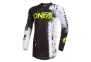 Maillot Manches Longues Enfant O'Neal Shred Noir
