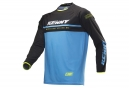 Maillot Manches Longues Kenny Elite Cyan / Noir