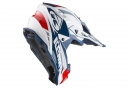 Casque Kenny Trophy Blanc / Rouge