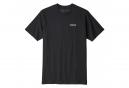 T-Shirt Patagonia P-6 Logo Responsibili-Tee Noir