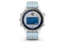 Fenix 5s Plus Sport Watch White Blue Lagon