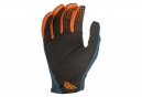 Gants Fly Racing Lite Orange/Bleu