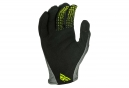Gants Longs Fly Racing Lite Noir/Jaune Fluo