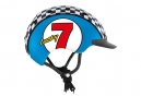 Casque Enfant Casco Mini 2 Lucky 7 Bleu