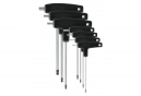 VAR Set of 7 hex keys spherical heads