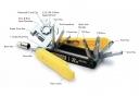 Multi-Outils Pedro's RX Micro 20 fonctions Noir