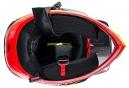 Casco Integral Troy Lee Designs D3 Carbon Longshot Rouge