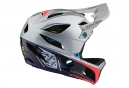 Troy Lee Designs Stage Race Full Face Helmet Glossy Silver Navy