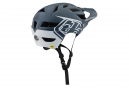Troy Lee Designs A1 Classic Mips MTB Helmet Anthracite Grey White Matte