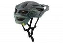 Troy Lee Designs A2 Decoy Mips MTB Helmet Black Flight Green Matte
