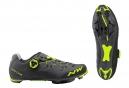 Chaussures VTT Northwave Ghost Xcm Noir Jaune Fluo