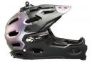 Casco BELL SUPER 3R Negro Púrpura Mate