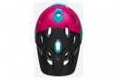 Bell Super DH Mips Casco con barbilla extraíble Unhinged Matte / Gloss Black / Berry / Blue