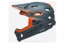 Casque avec Mentonnière Amovible Bell Super DH Mips Gris/Orange 2019