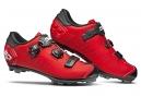 Chaussures VTT Sidi Dragon 5 SRS Rouge / Noir Mat