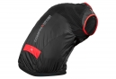 Veste Coupe Vent Compressport Cycling Hurricane Wind Protect Noir Rouge