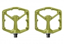 Pédales Plates Crankbrothers STAMP 7 Vert