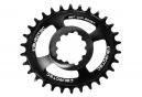 Burgtec GXP / DUB Boost Oval Tray Black Offest 3mm