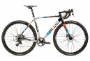 Cinelli Zydeco Gravel Bike Sram Apex 11S 2019 Negro Plata Multicolor