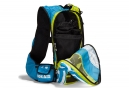 Hoka Evo Race 17L Pack Backpack Blue Yellow