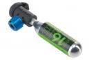 Gonfleur CO2 Syncros Nozzle + Cartouche CO2 16 g
