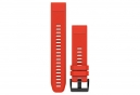 Garmin QuickFit 22 mm Silicone Wristband Flame Red