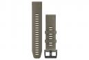 Garmin QuickFit 22 mm Silikon-Armband Coyote Tan