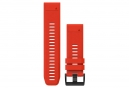 Garmin QuickFit 26 mm Silicone Wristband Flame Red