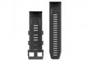 Garmin QuickFit 26 mm Silikonarmband Schwarz
