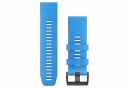 Garmin QuickFit 26 mm Silicone Wristband Cyan Blue