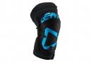 Leatt 3DF 5.0 Zip Short Knee Guards Fuel Black