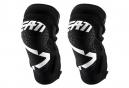 Leatt 3DF 5.0 Zip Short Knee Guards White Black