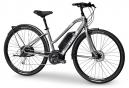 Vélo de Ville Électrique Femme Trek Verve + Low Step Shimano Alivio 9V 400 Gris / Blanc 2019