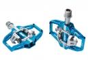 Paire de Pédales Automatiques HT T1 SX Bleu