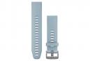 Garmin QuickFit 20 mm Silikon-Armband Seafoam Blue