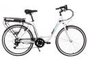Vélo de Ville Électrique OGP Bike OGP Urban Eco Shimano Tourney 6V Blanc