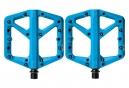 Paire de Pédales Plates Crankbrothers STAMP 1 Bleu