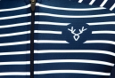 LeBram Ventoux 2 Kurzarmtrikot Slim Fit Weiß