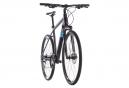 Bicicleta Híbrida Cube Nature Shimano Mixte 8v Iridium Negro / Azul 2019