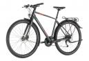Bicicleta Cicloturística Cube Travel Noir / Rouge