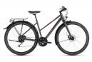 Bicicleta Cicloturística Mujer Cube Travel Trapèze Noir / Rouge