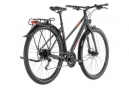 Cube Complete Travel Hybrid Bike Trapeze Shimano Mixt 9s Iridium Black / Red 2019